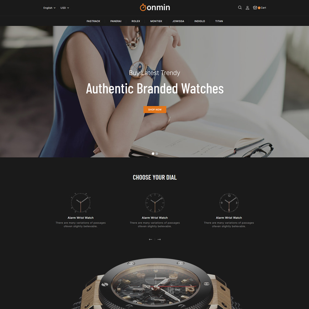 theme - Jewelry & Accessories - Onmin - Watch and Fashion Store - 2
