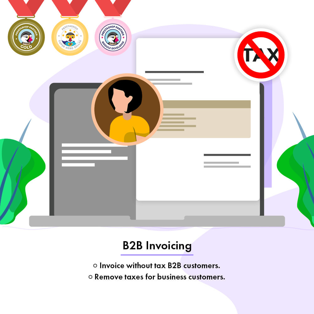 module - Accounting & Invoicing - B2B Invoicing   Tax Exemption For Business Customers - 1
