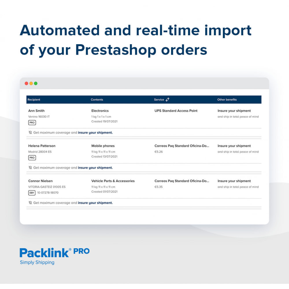 module - Shipping Costs - Packlink PRO Shipping - 2