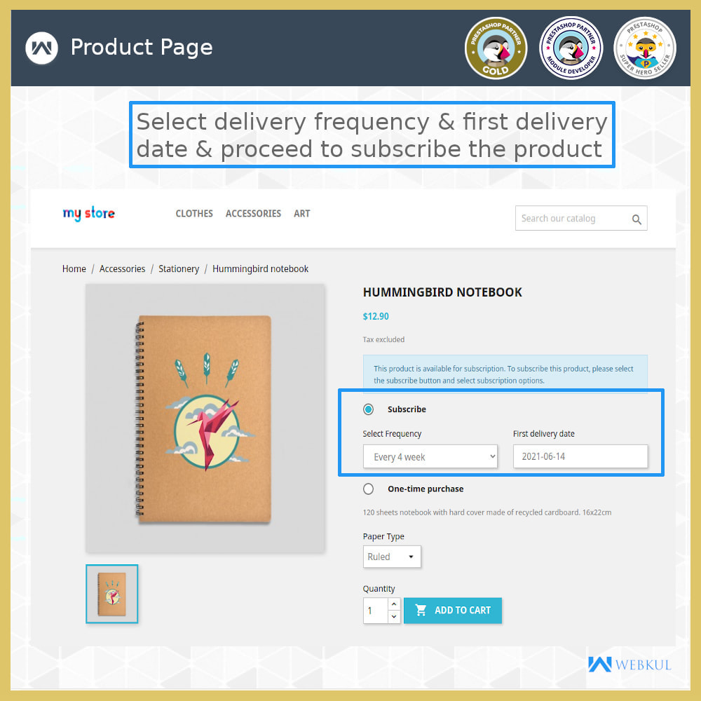 module - Recurring payment (subscription) - Subscription Products | Recurring Payments - 4