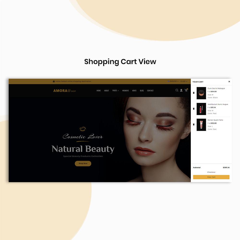 theme - Gezondheid & Schoonheid - Amora Beauty Store - 6