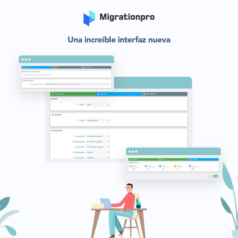 module - Migración y Copias de seguridad - Herramienta de migración de Zen Cart a PrestaShop - 6