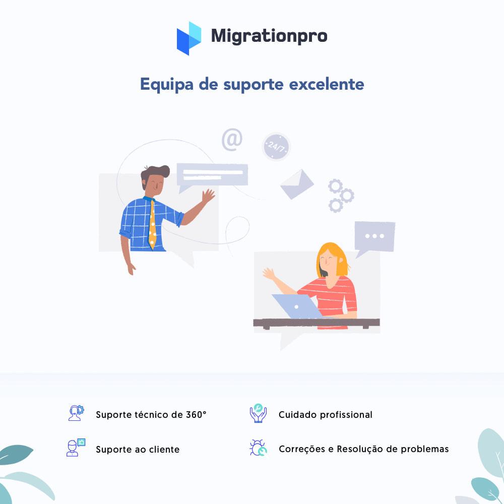 module - Migração de Dados & Registro - Ferramenta de Migração de Zen Cart para PrestaShop - 8