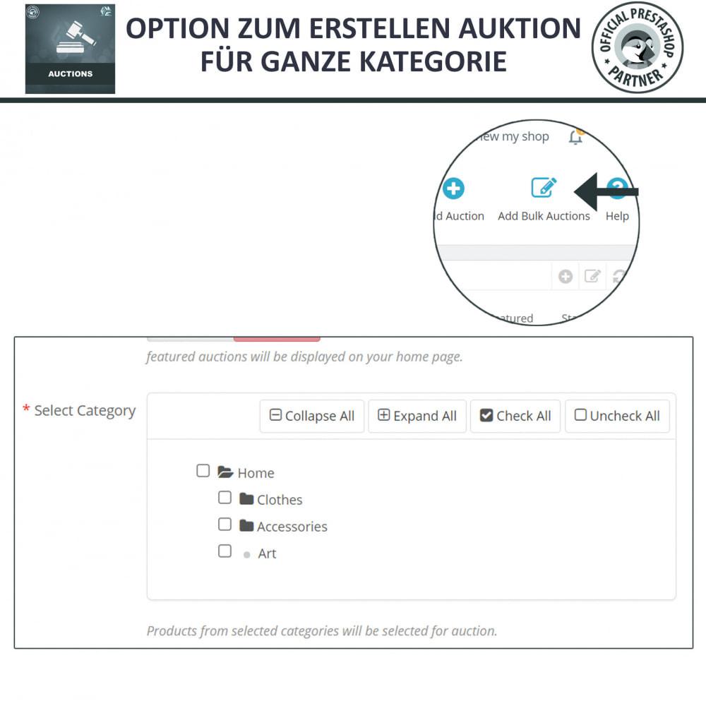 module - Auktionsseiten - Auktion Pro, Online-Auktions und Gebotsmanagement - 23