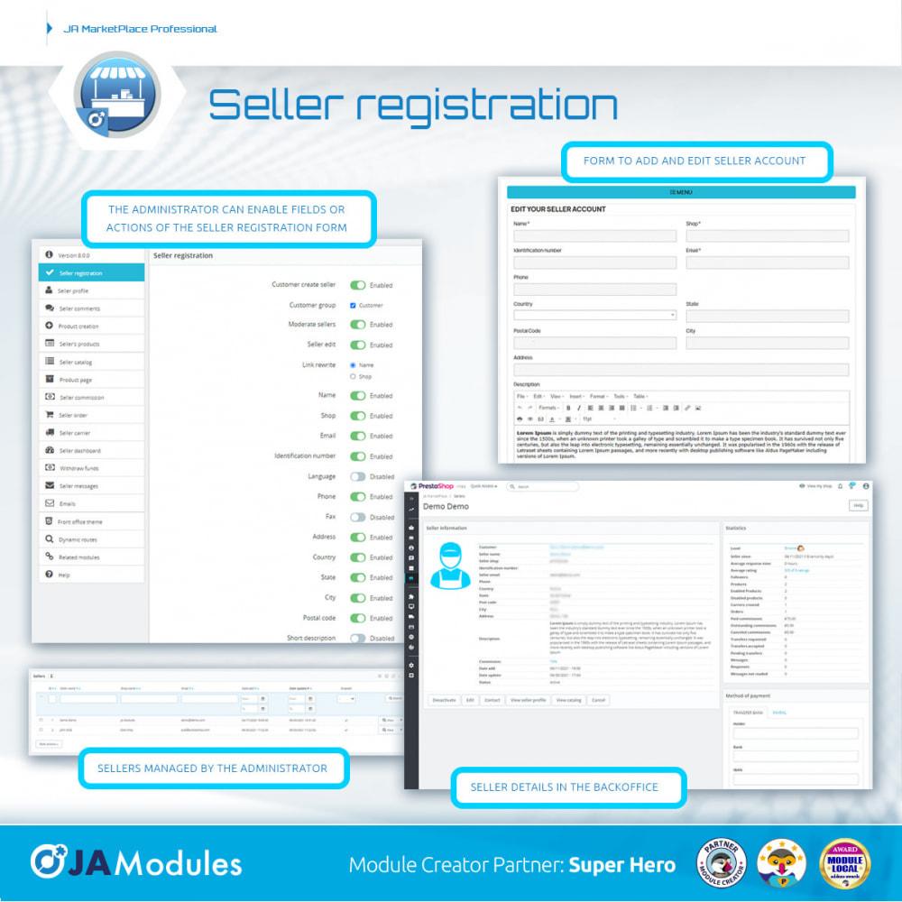 module - Marketplace Erstellen - JA Marketplace - 7