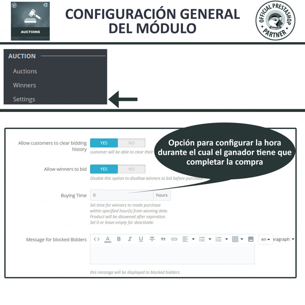 module - Web de Subastas - Subasta Pro - Subastas en línea y oferta - 25
