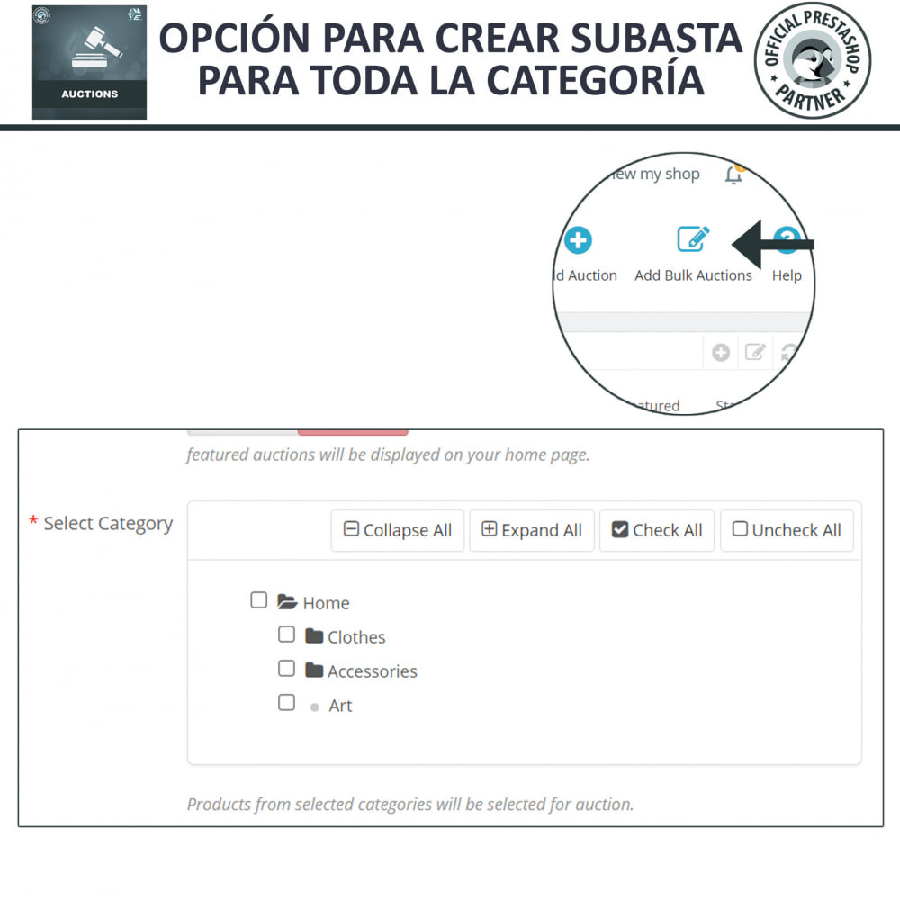 module - Web de Subastas - Subasta Pro - Subastas en línea y oferta - 23
