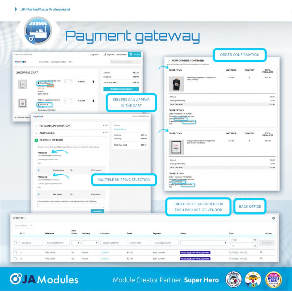 module - Marketplace Erstellen - JA Marketplace - 14