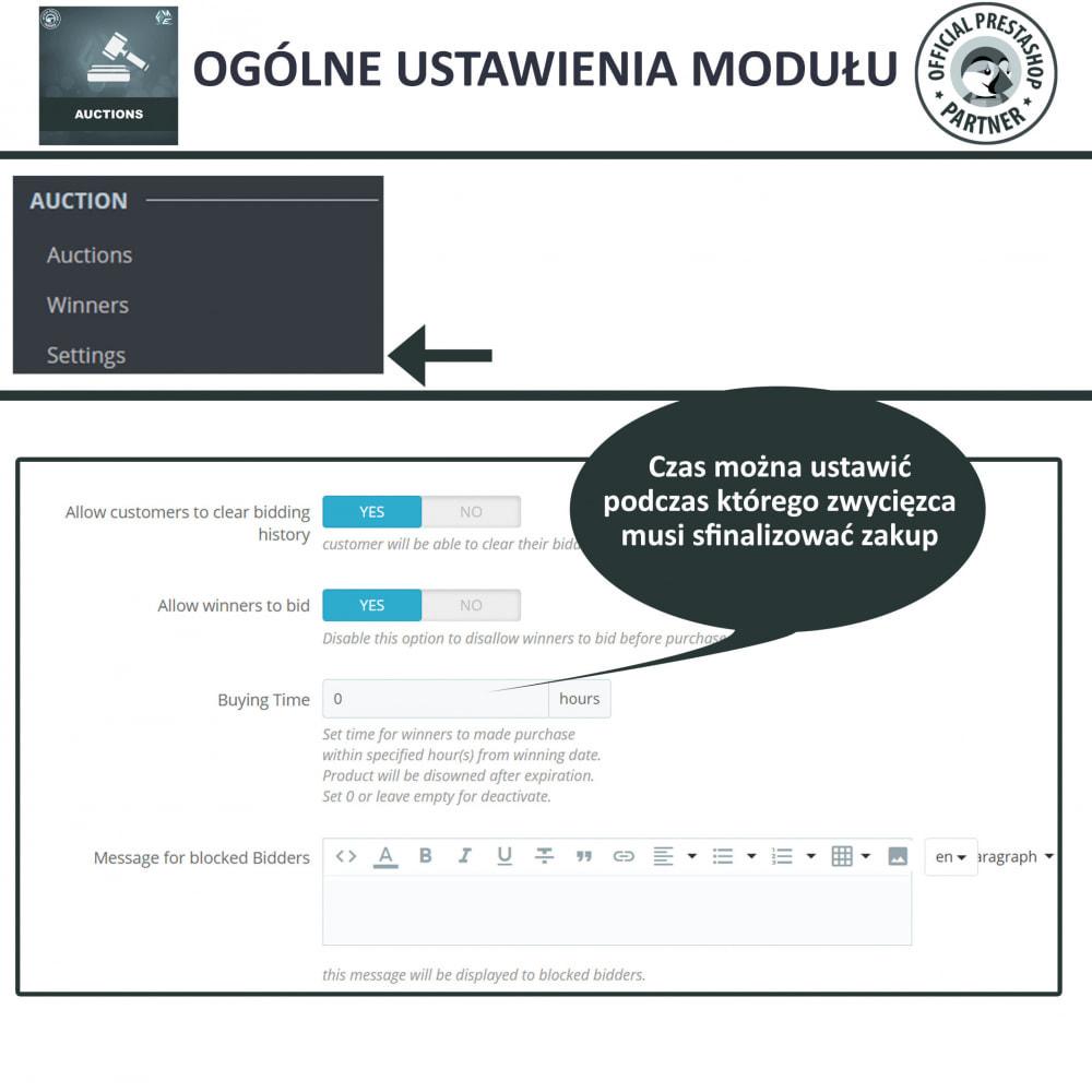 module - Zbuduj stronę aukcyjną - Aukcje Pro, Aukcje i Licytacje Online - 25