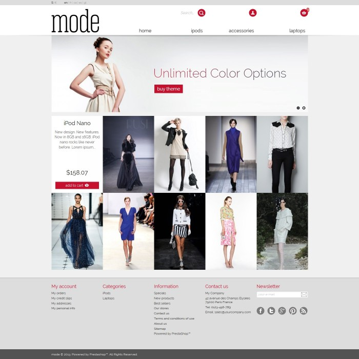 theme - Moda & Calzature - 01 Mode - 3