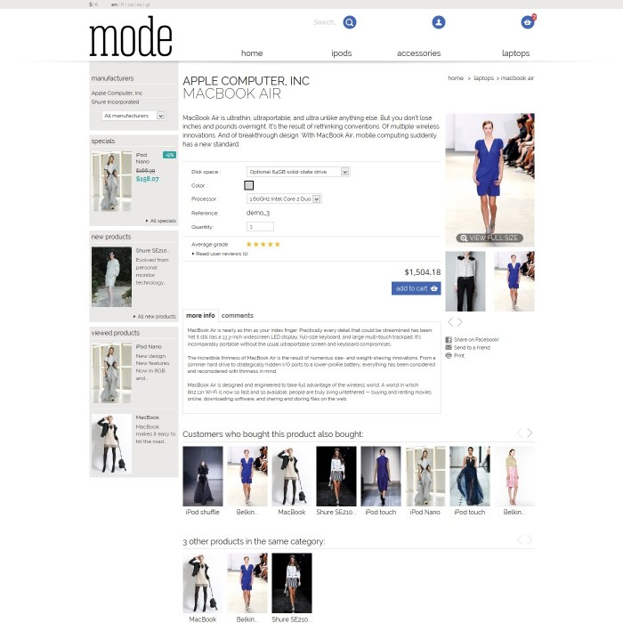 theme - Moda & Calzature - 01 Mode - 6