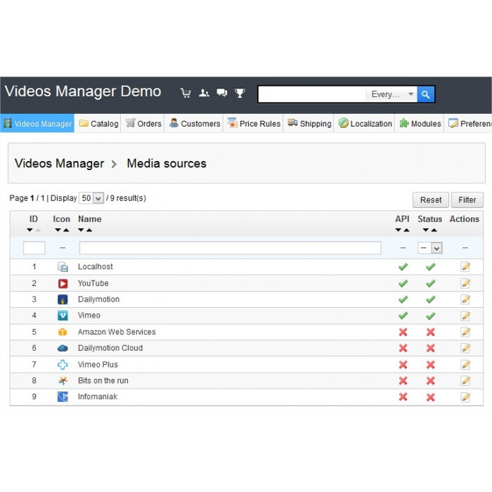 module - Vídeos & Música - Videos Manager - Ultimate videos streaming module - 10