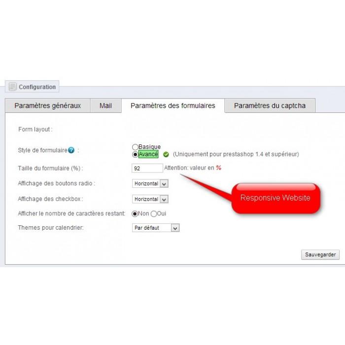 module - Contact Forms & Surveys - Customizable ContactForm - 5