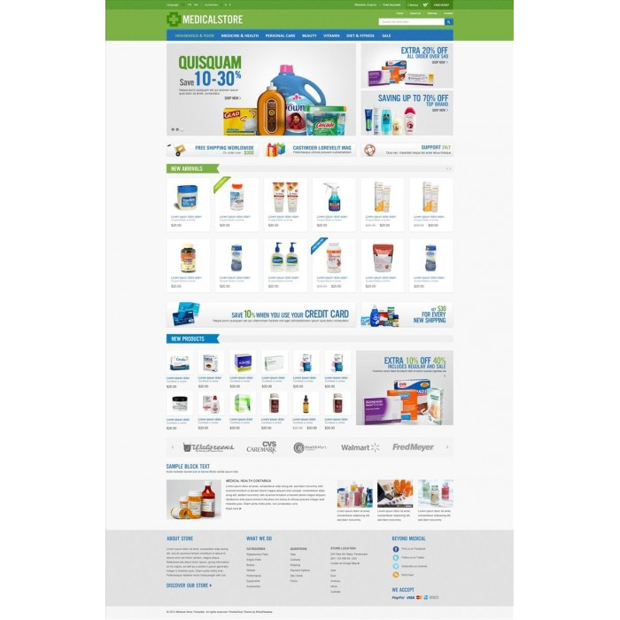 theme - Saúde & Beleza - Medical & Drug Store PrestaShop Theme - MedicalStore - 7