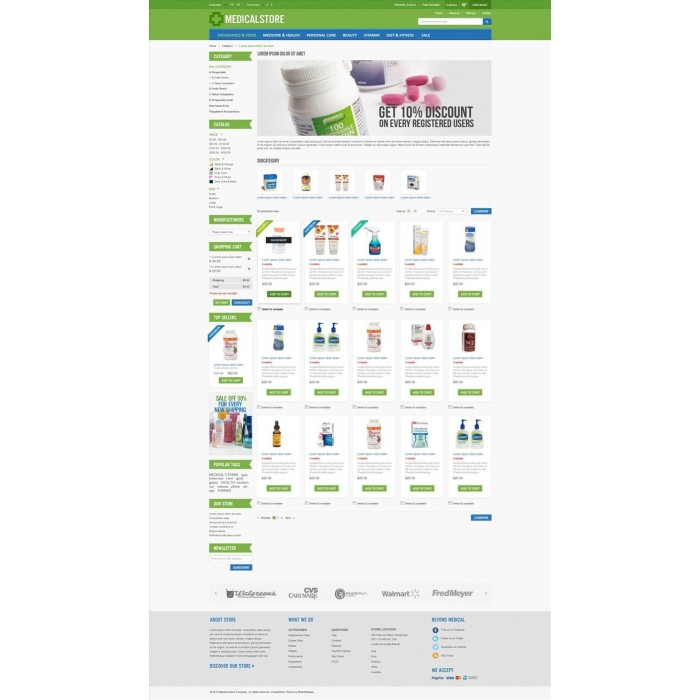 Medical & Drug Store PrestaShop Theme - MedicalStore