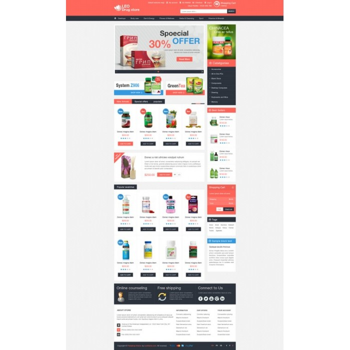 theme - Salud y Belleza - Leo Drug Store - 7