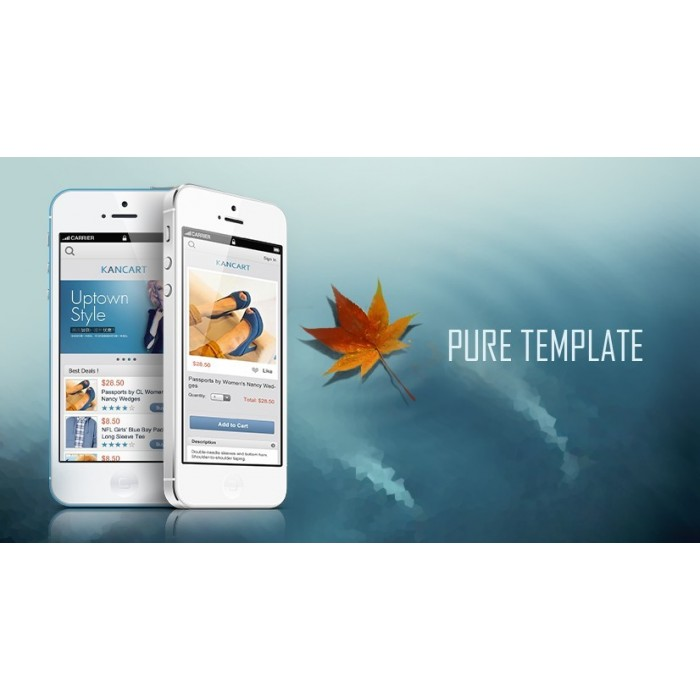 module - Dispositivos móviles - Kancart Freemium HTML5 Mobile & APP - 1