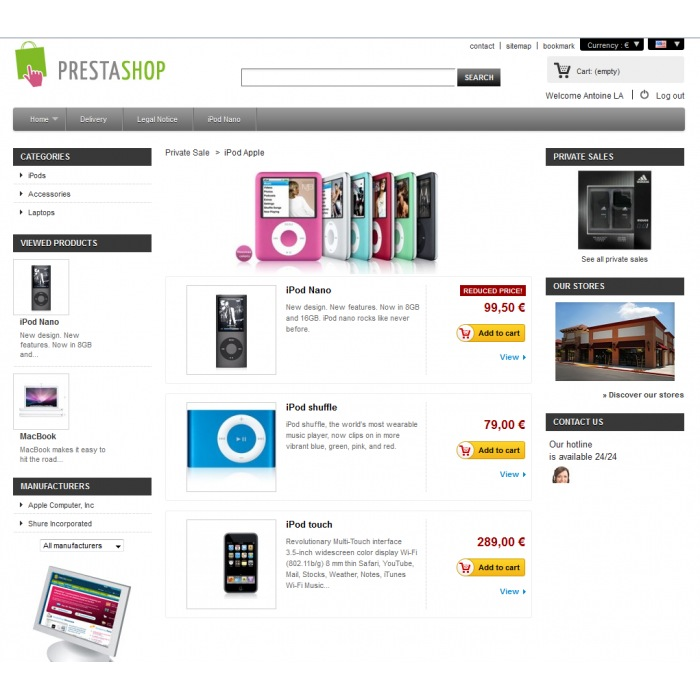 module - Flash & Private Sales - Vendite private PrestaShop - 3