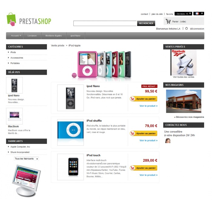 module - Ventas Privadas y Ventas Flash - Ventas Privadas PrestaShop - 5