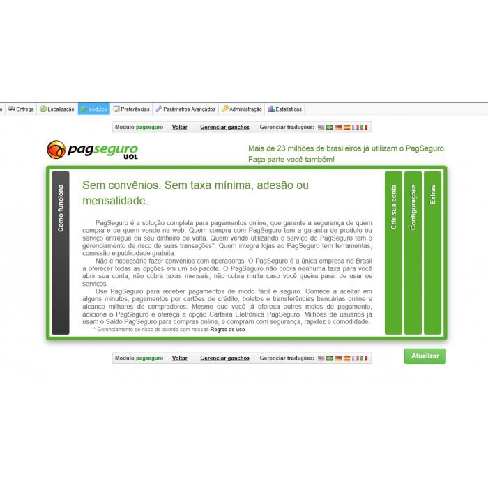 module - Płatność kartą lub Płatność Wallet - pagseguro - 3