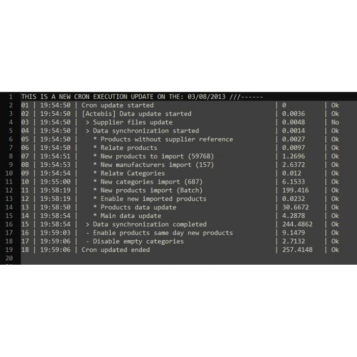 module - Edição rápida & em massa - Ingram Micro Automatic integration solution-Basic Setup - 3