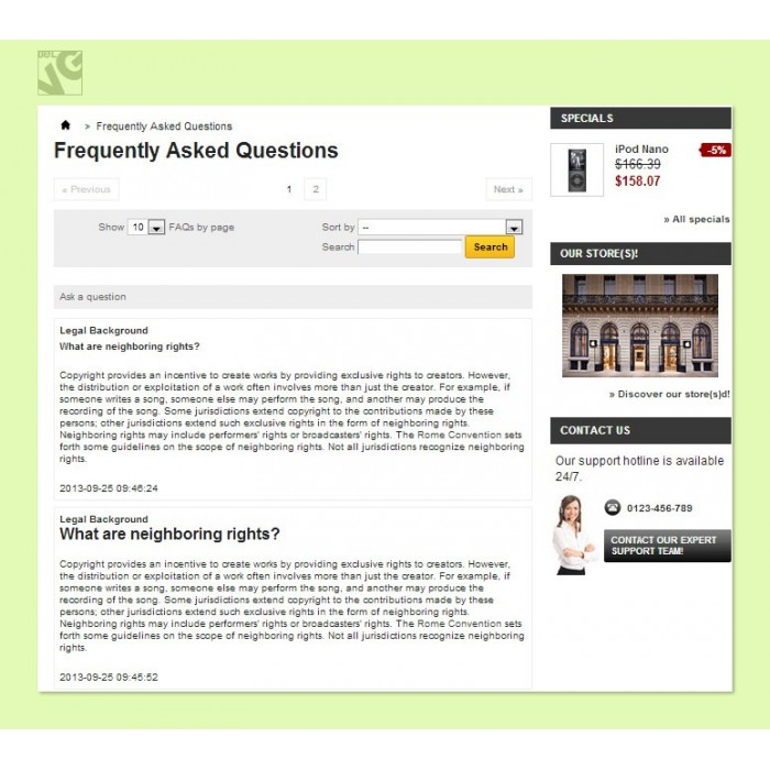module - FAQ (Domande Frequenti) - FAQ (Frequently Asked Questions) - 2