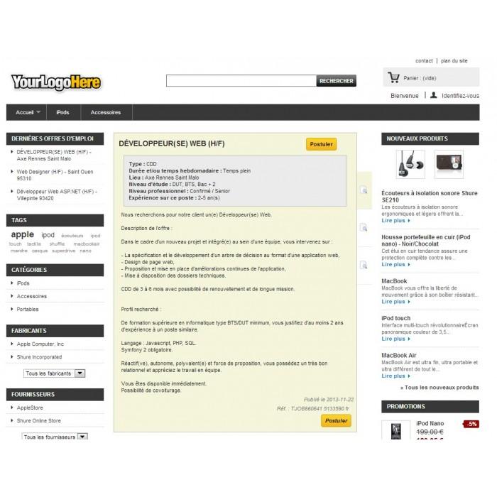 module - Blog, Foro y Noticias - LzRecruitment - 2