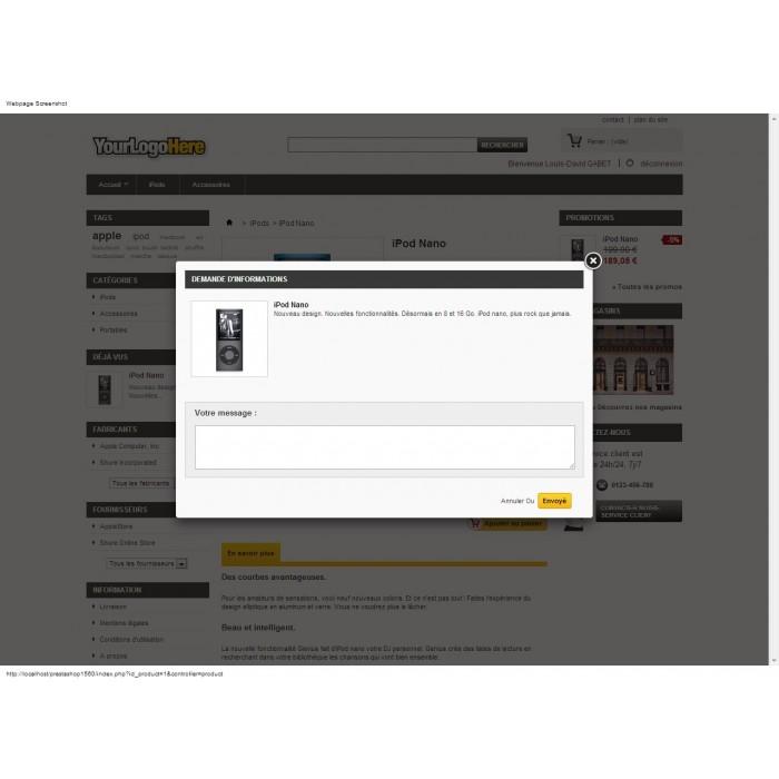 module - Formularz kontaktowy & Ankiety - Ask Infos Seller - 6