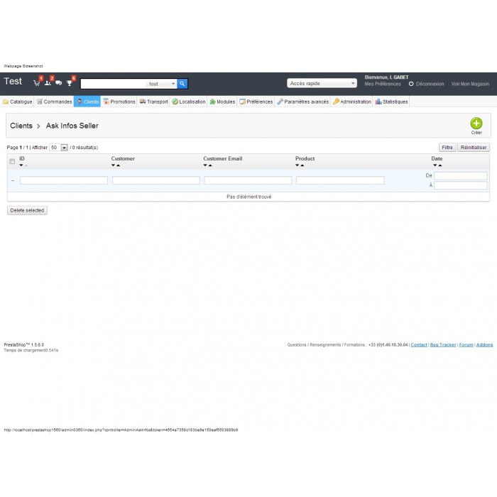module - Formularz kontaktowy & Ankiety - Ask Infos Seller - 8