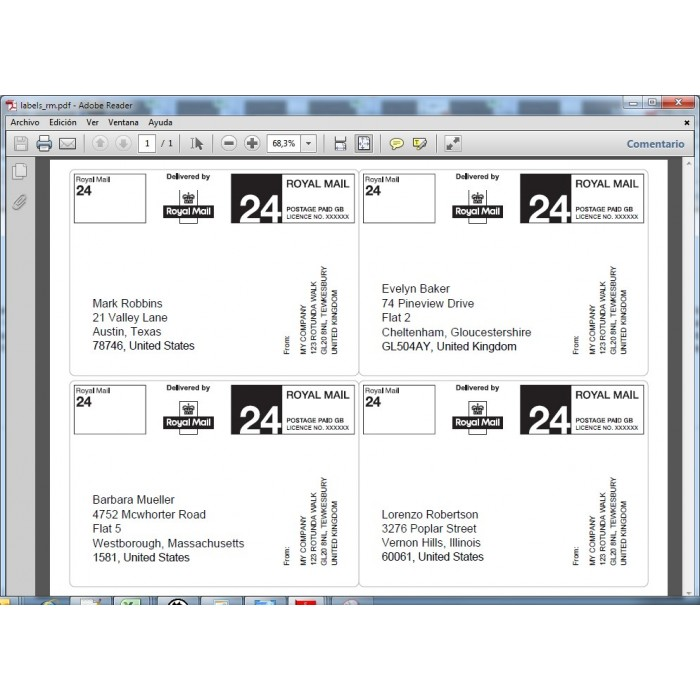 module - Préparation & Expédition - Sticky Labels - Professional Shipping Labels - 13