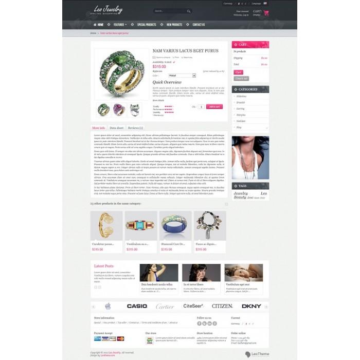 theme - Sieraden & Accessoires - Leo Jewelry - 5