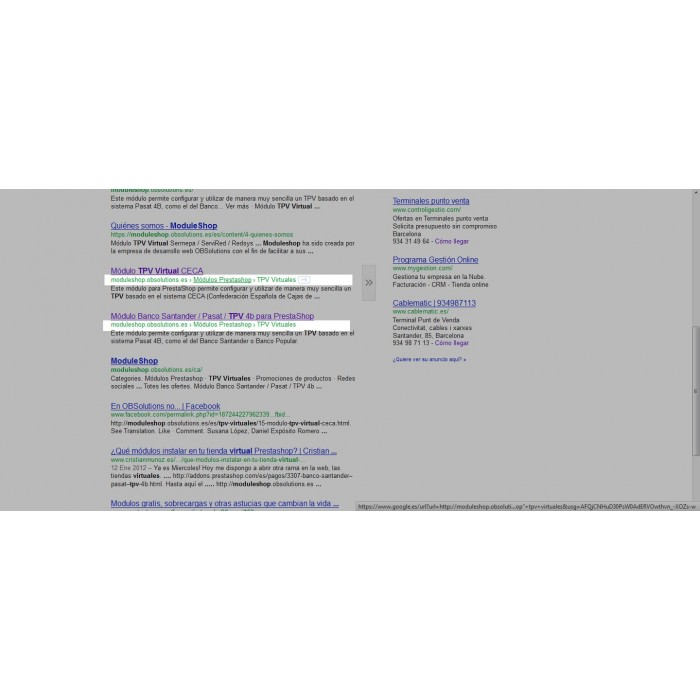 module - SEO (Posicionamiento en buscadores) - Google Rich Snippets Breadcrumbs [schema.org markup] - 2