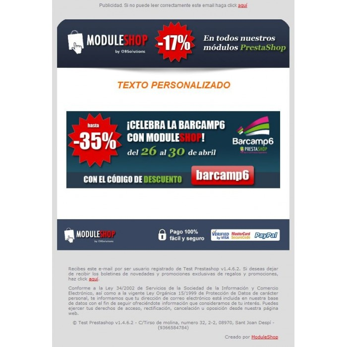 module - Newsletter y SMS - Newsletter Maker Pro - 5