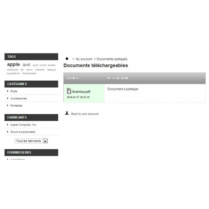 module - Kundenverwaltung - Document Sharing - 11