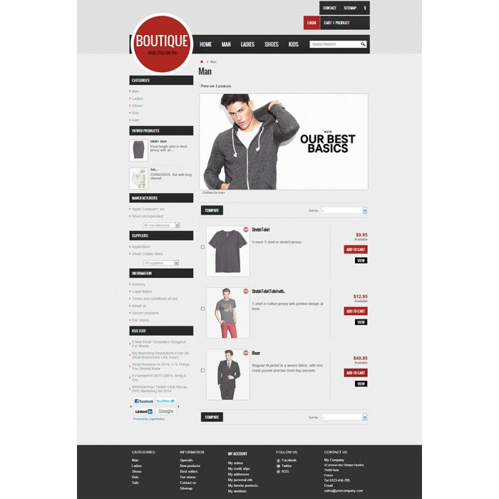 theme - Moda y Calzado - GreatBoutique - 2