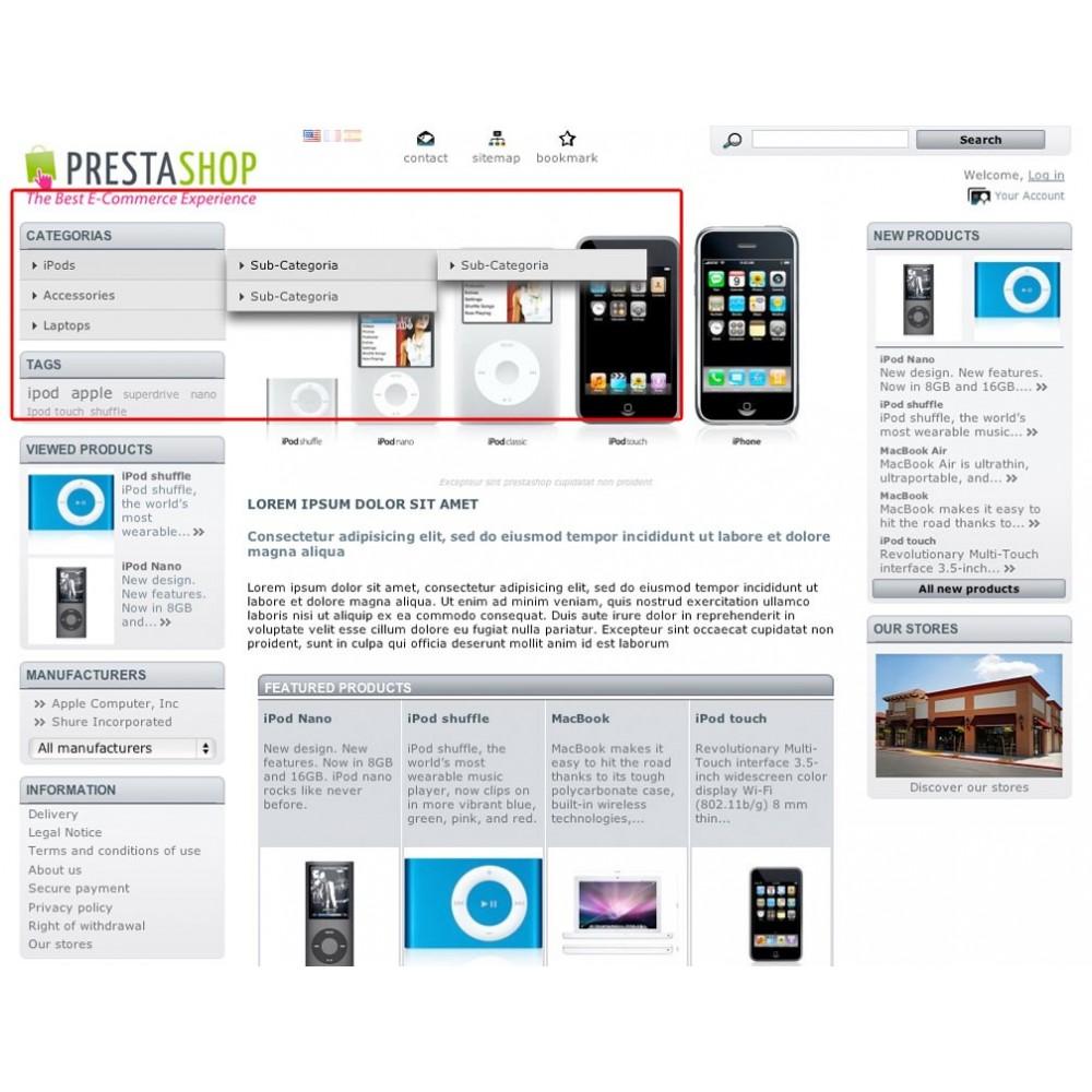 module - Menú - Menú de categorías vertical con imágenes - 2