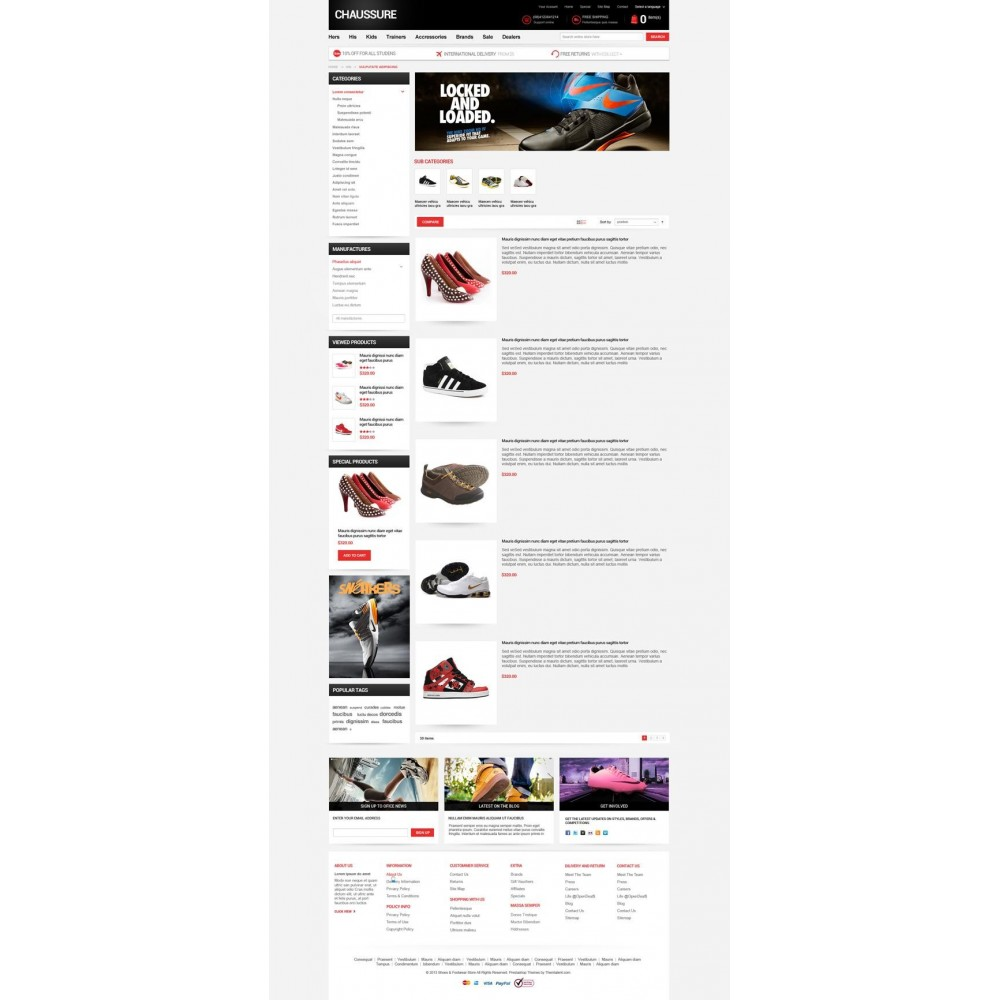 theme - Мода и обувь - Shoes Store Responsive PrestaShop Theme - ET Chaussure - 7