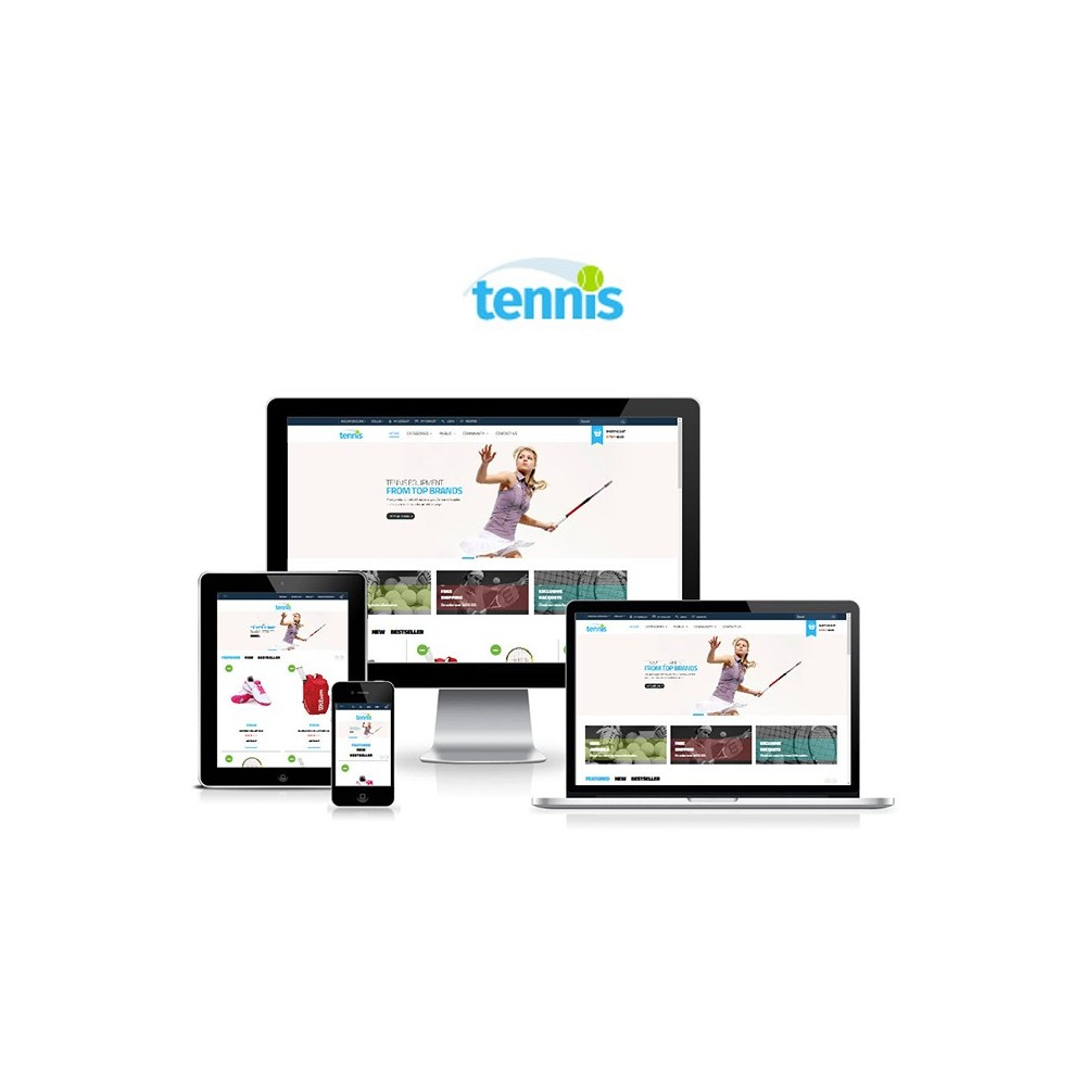 theme - Sports, Activities & Travel - Leo Tennis - 1