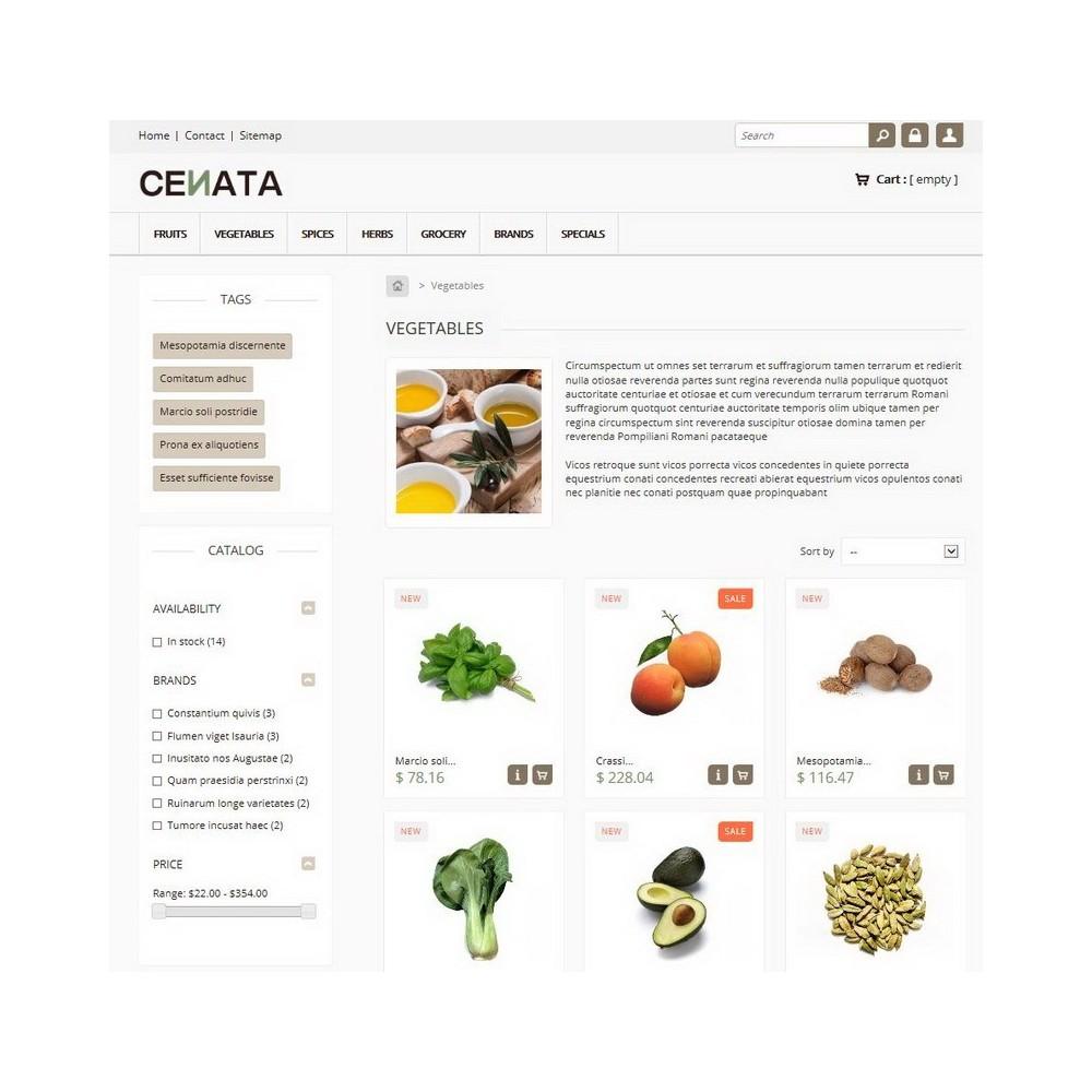 theme - Food & Restaurant - Cenata - 2