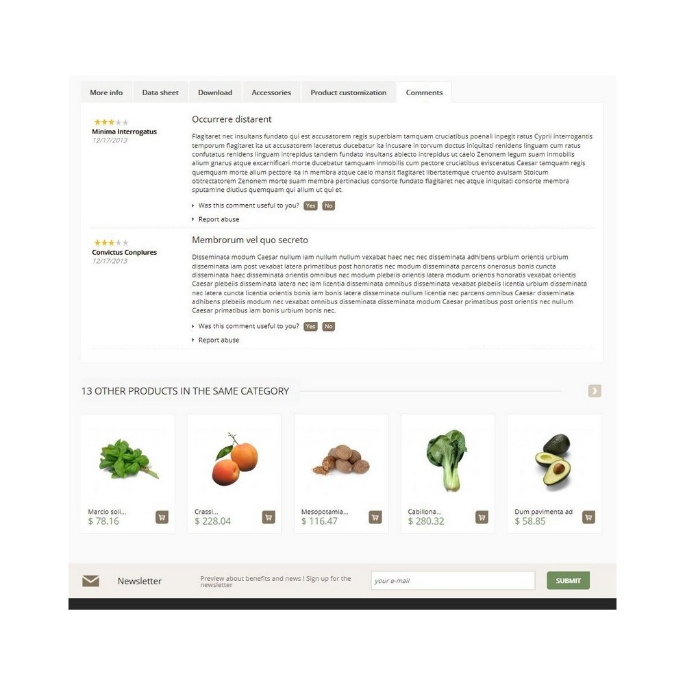 theme - Food & Restaurant - Cenata - 4