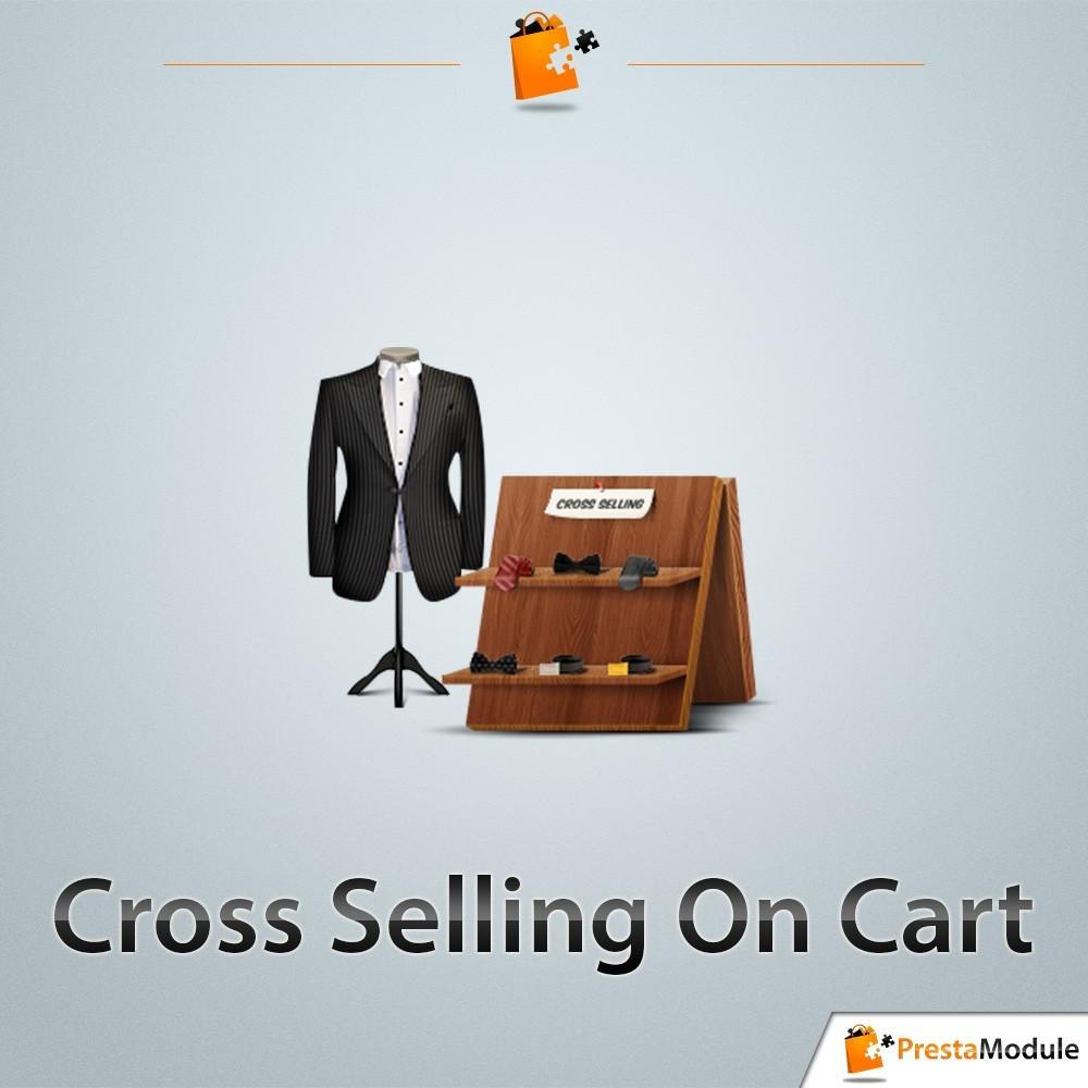 module - Ventes croisées & Packs de produits - Cross Selling on Cart - Ventes Croisées & Suggestions - 1