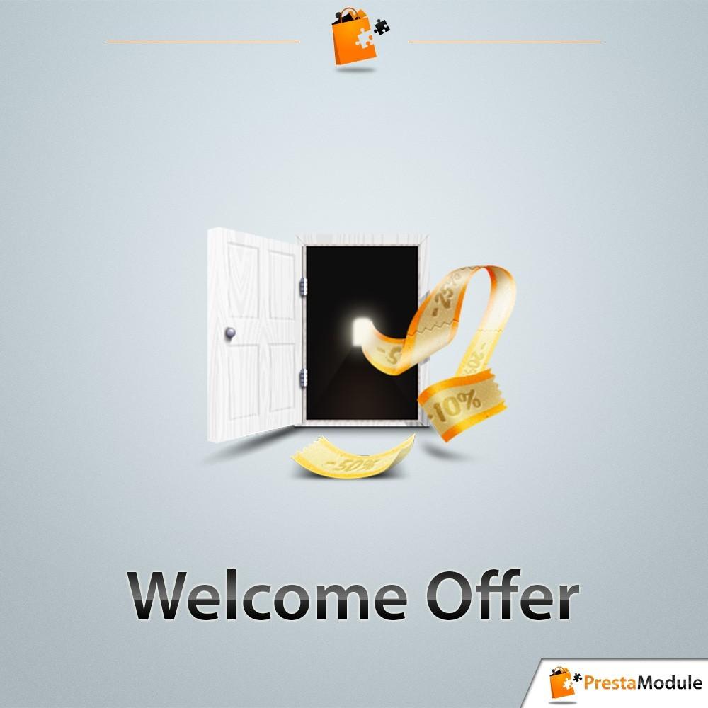 module - Fidélisation & Parrainage - Welcome Offer - 1