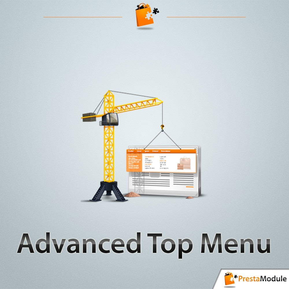 module - Front office features - Advanced Top Menu - Responsive - 1