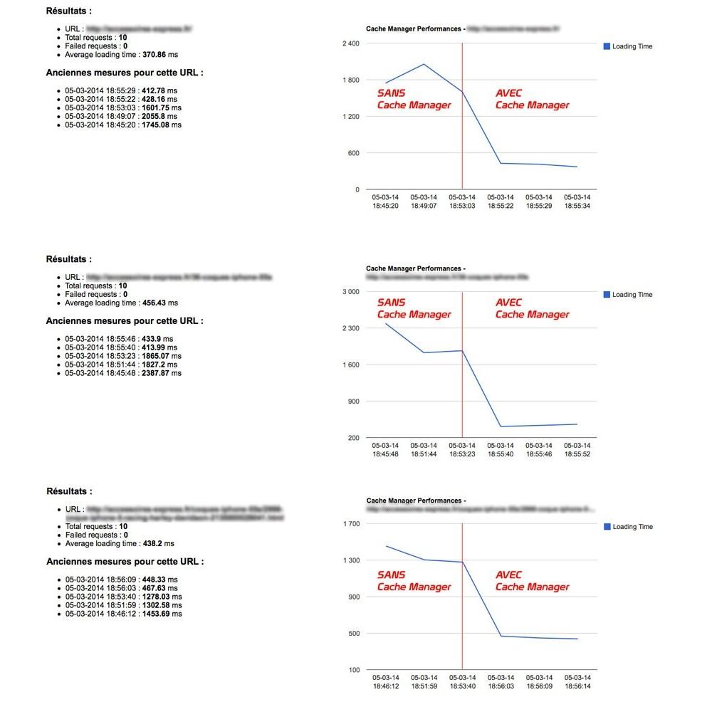 module - Performance du Site - Cache Manager - Réduit le temps de chargement des pages - 2