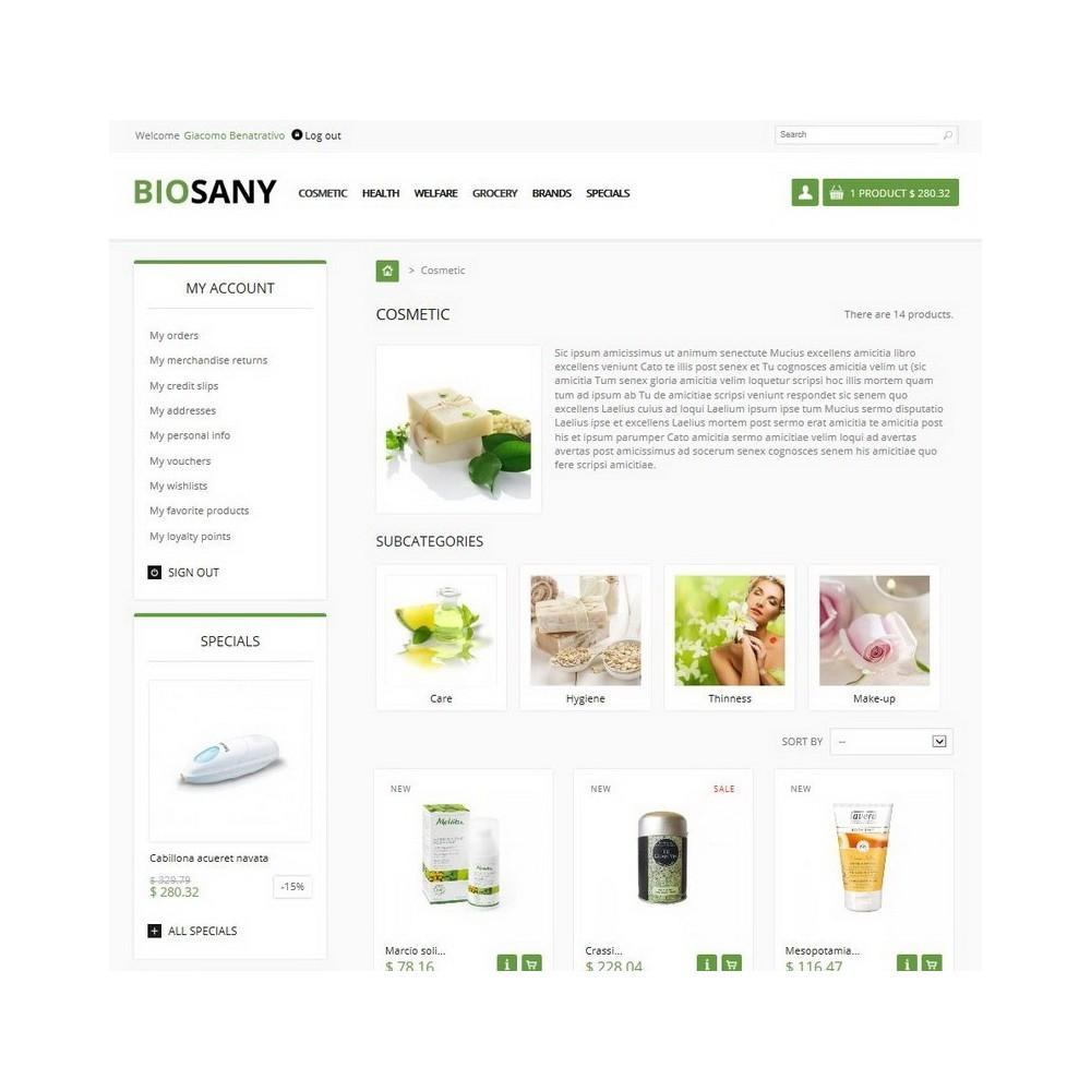 theme - Salute & Bellezza - Biosany - 2