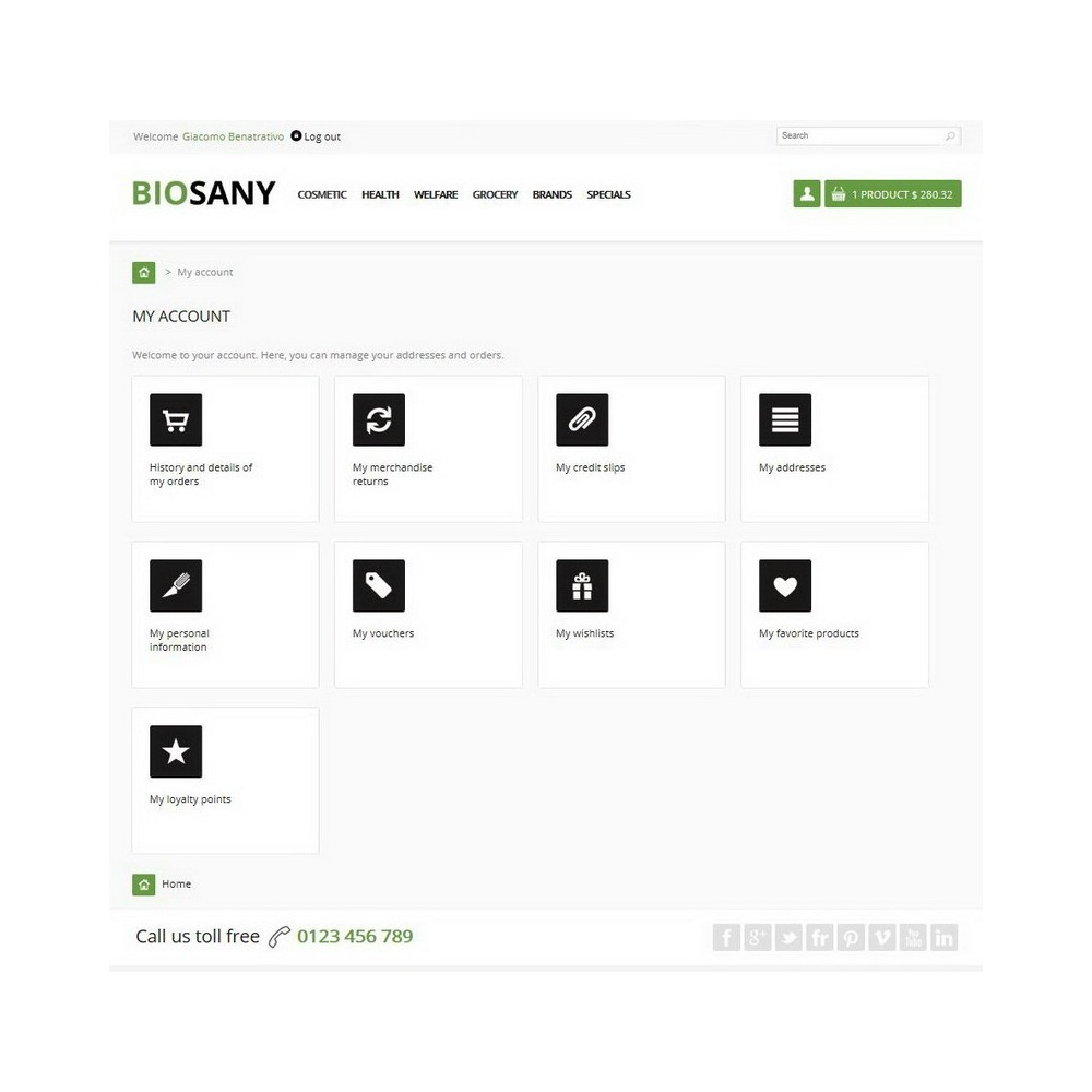 theme - Salute & Bellezza - Biosany - 7