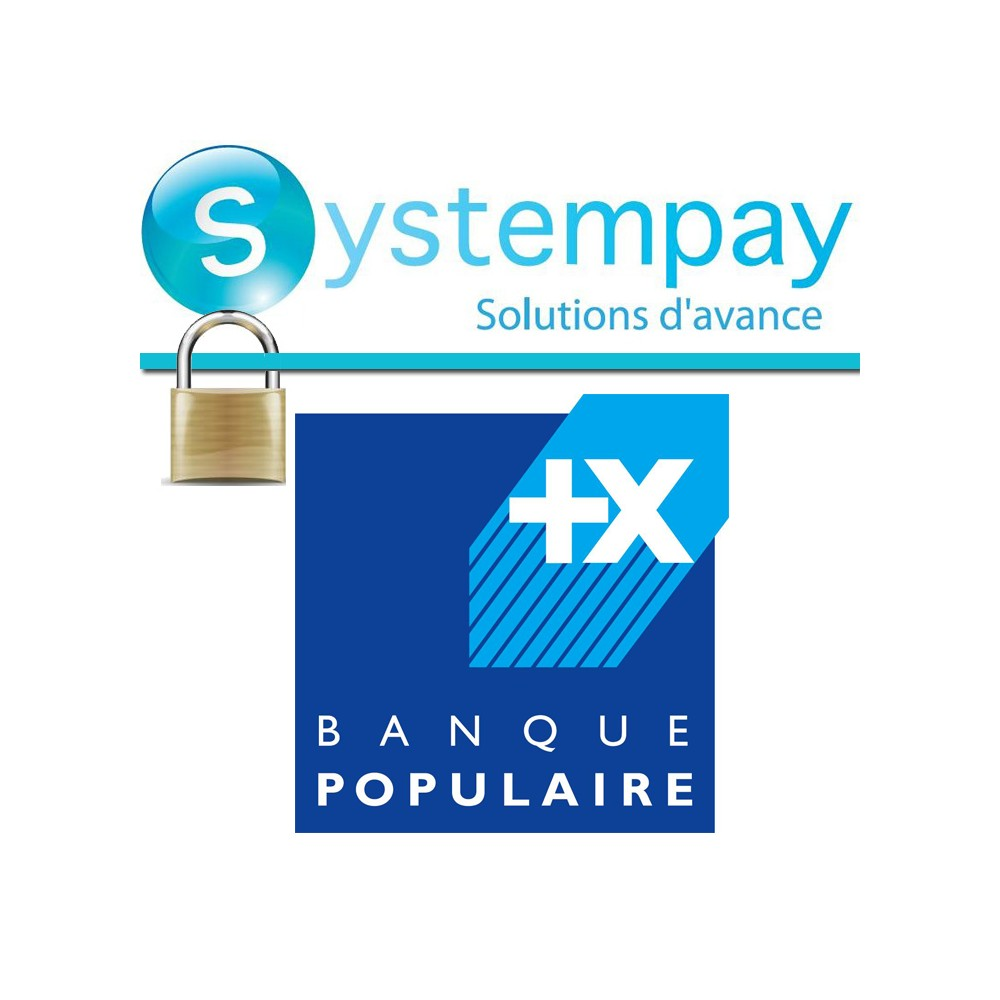 module - Zahlung per Kreditkarte oder Wallet - Banque Populaire - SystemPay - 1