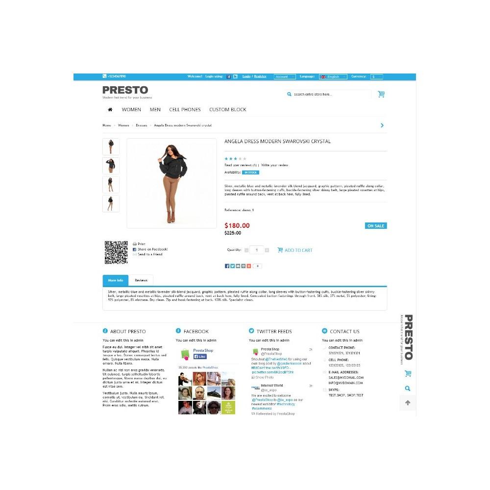 theme - Fashion & Shoes - Presto - 8