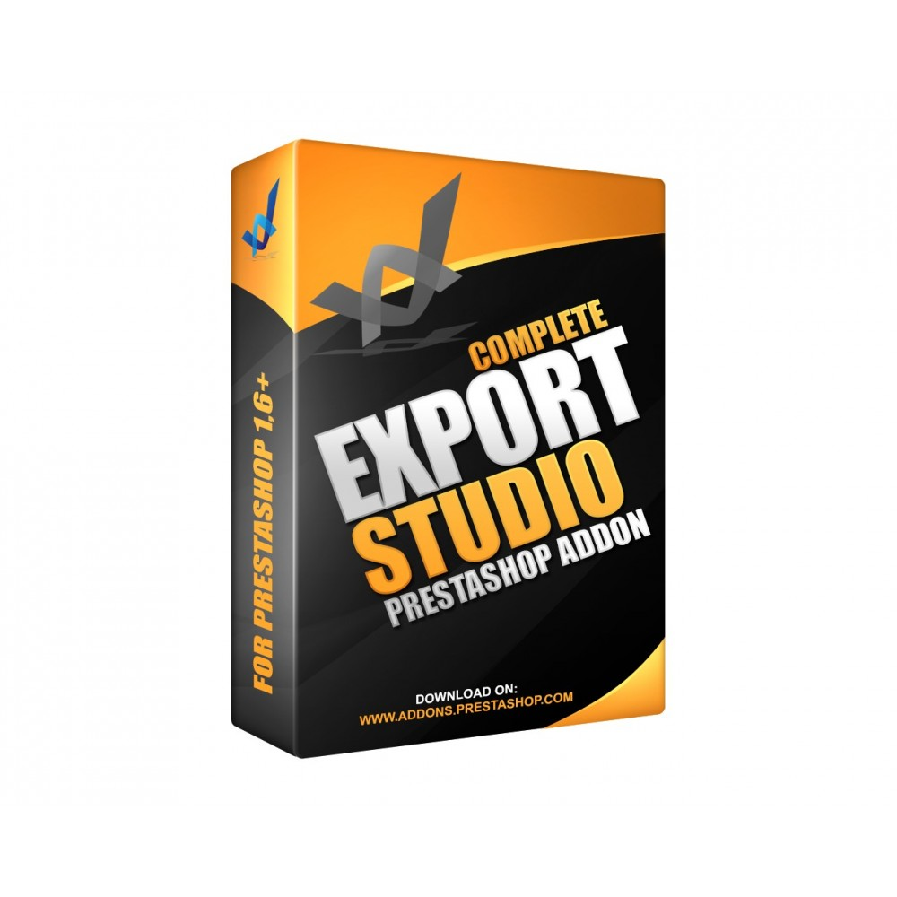 module - Importação & exportação de dados - Quick Products, orders and customers data export - 1