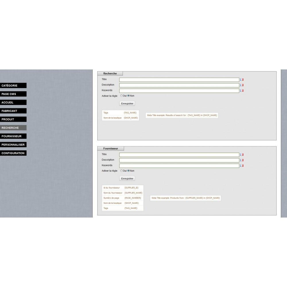 module - SEO (référencement naturel) - SEO Meta Tags Generator - 4